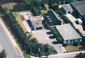 Gebäude Apmann Luftaufnahme