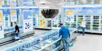 Symbolbild Videoueberwachung Supermarkt