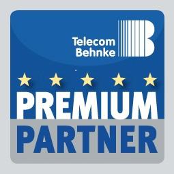 Logo Telecom Behnke Premium Partner