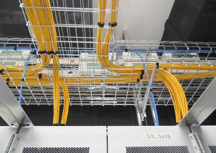 Abbildung von Netzwerkverkabelung