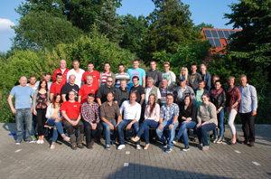 Gruppenfoto Team Apmann
