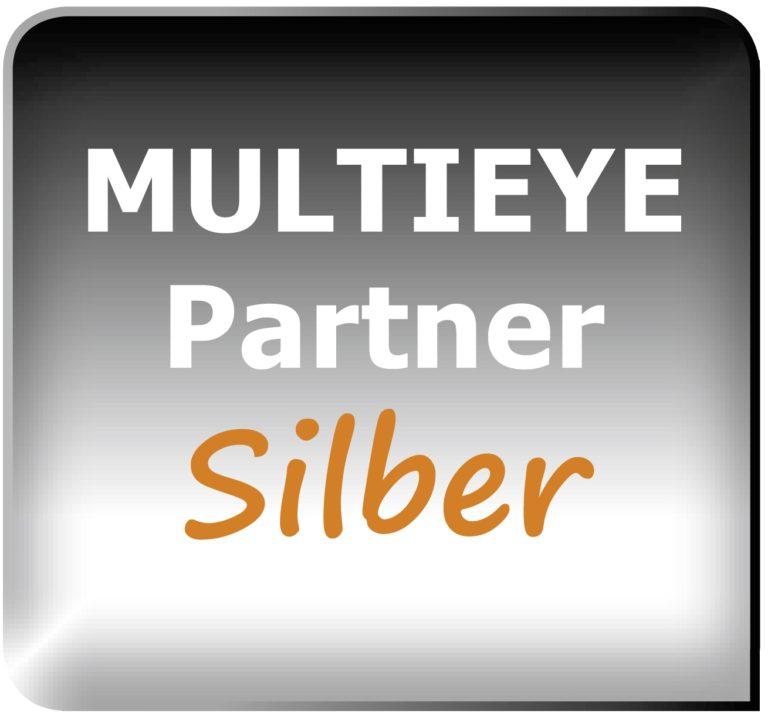 Logo Multieye Partner silber