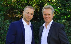Torsten und Erik aus der Geschäftsführung