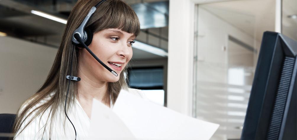 Bürokauffrau für Telefonie