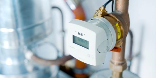 Symbolbild_Wärmezähler_Technische Gebäudeausrüstung_Energiedienstleister Ista